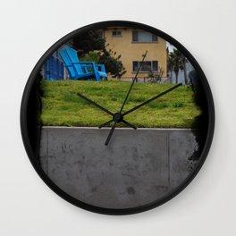 House on The Esplanade Wall Clock