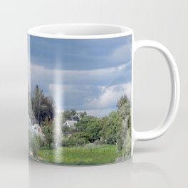 Clouds after rain and thunderstorms in the sky Coffee Mug