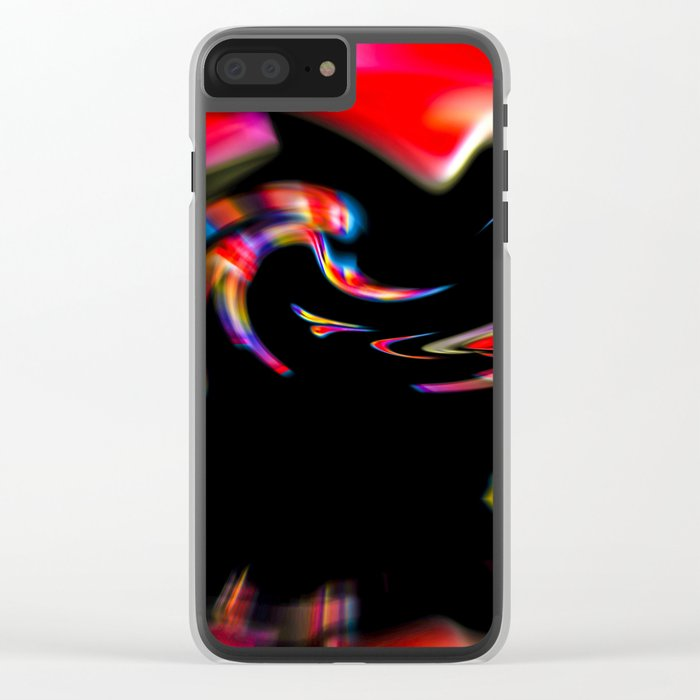 Abstract Perfection 39 Clear iPhone Case