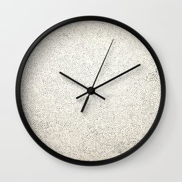 Infinity Net Alike Yayoi Wall Clock