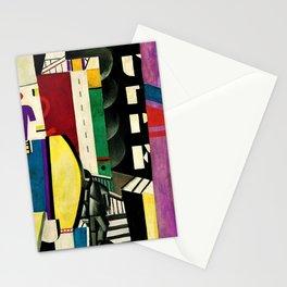 The City - La Ville by by Fernand Léger Stationery Cards