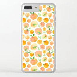 Peachy Clear iPhone Case