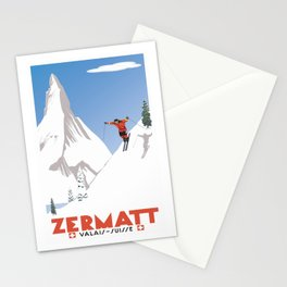 Zermatt, Valais, Switzerland Stationery Cards