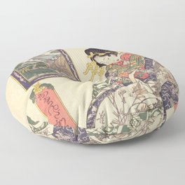 Geisha women Floor Pillow