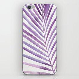 Purple Palms iPhone Skin