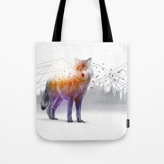 A Wilderness Within / Wolf Tote Bag