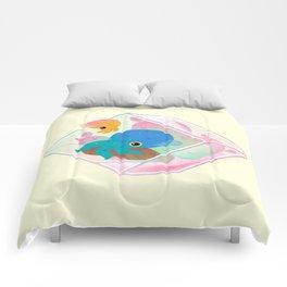 Ocean terrarium - Bobtail squids Comforters