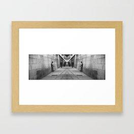 Realidad aumentada. Framed Art Print