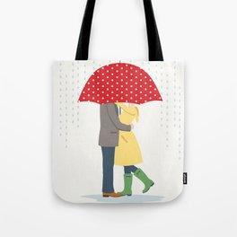 Raindrops Keep Fallin' Tote Bag