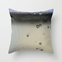champagne Throw Pillows featuring Champagne by Heartland Photography By SJW
