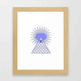 EVIL EYE Framed Art Print