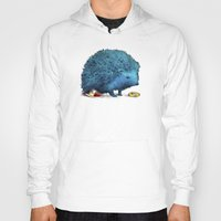 sonic Hoodies featuring Sonic (color option) by Eric Fan