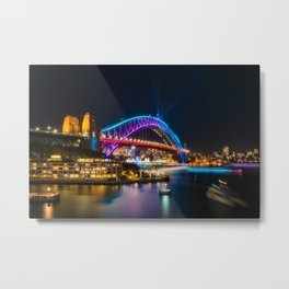 Bridging the gap: from the past and into the future Metal Print