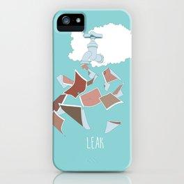 Leak iPhone Case