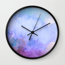 DREAMY RAINBOW CLOUDS Wall Clock