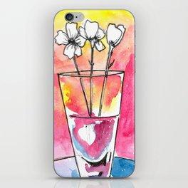 Glass vase iPhone Skin