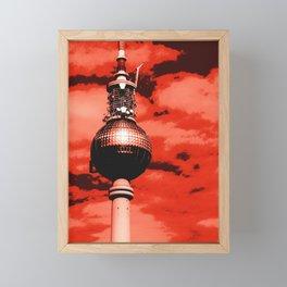 Pop Art Berlin Framed Mini Art Print