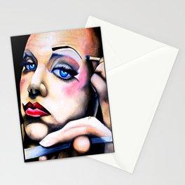 pretty me, drag series Stationery Cards