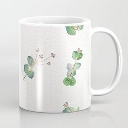 Eucalyptus Pattern Watercolor  Coffee Mug