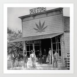 Drug Store #1 Art Print