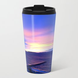 Blue Sunset in Cannes La Bocca Travel Mug