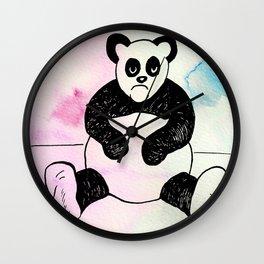 Angry Panda Wall Clock