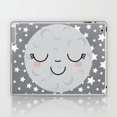 Moon Face Laptop & iPad Skin