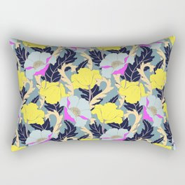 June Yellow Rectangular Pillow
