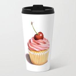 The Perfect Pink Cupcake Travel Mug