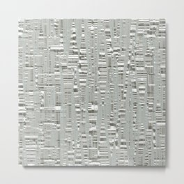 Texture az Birch Metal Print