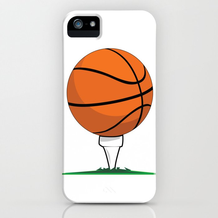 Basketball Tee iPhone Case