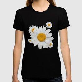 Daisy flower minimal white cute T-shirt