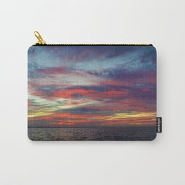 Fall sunset above Lake St. Clair, Canada Carry-All Pouch