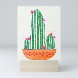 Cactus with Terra Cotta Mini Art Print