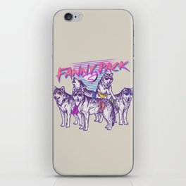 Fanny Pack iPhone Skin