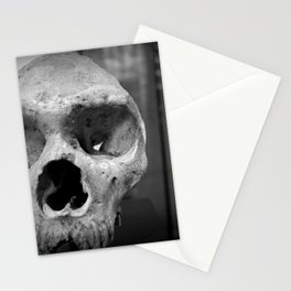 Neanderthal Skull, Natural History Museum, London, UK Stationery Cards