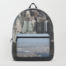 NYC Downtown Aerial Backpack