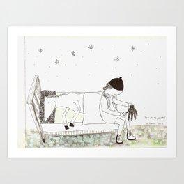 Tori Amos- Winter / things for songs Art Print