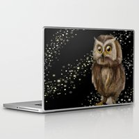 hedwig Laptop & iPad Skins featuring My Hedwig by Mathis Designs