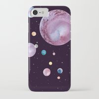 planets iPhone & iPod Cases featuring Planets by Suky Goodfellow