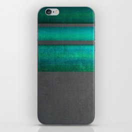 """Architecture, cement texture & colorful II"" iPhone Skin"