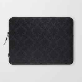 Black damask - Elegant and luxury design Laptop Sleeve