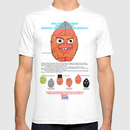 Ernest Borgnine Coconuts - Collect Them All! T-shirt