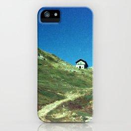 Analog series: Mountain Hut iPhone Case