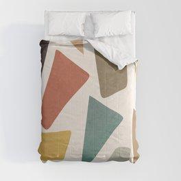 Colorful Shapes II Comforters