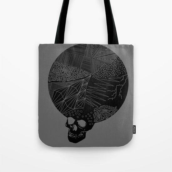 BLK SKL Tote Bag