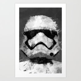 mancave poster the force awakens Art Print