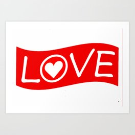 Love/Heart Art Print