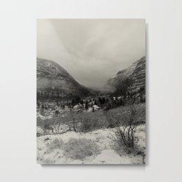 Telluride Mist Metal Print