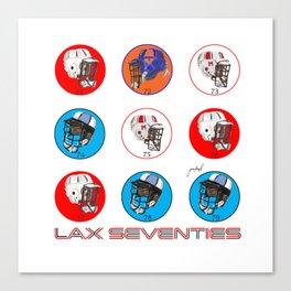 SQUARE--Lax Seventies Canvas Print